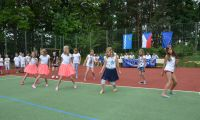 At Suchdol we were treated to performances of dance... / V Suchdole nacvičili tanečky...
